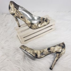 Jessica Simpson Marbled High Heels